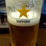 bi-runagayakantarou - グラスのロゴは反対側にあったのね