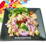 スコンター - ラープムー(豚挽肉の辛口ハーブ和え)