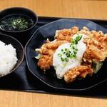 【定食】タルタル鶏唐げ4個入り