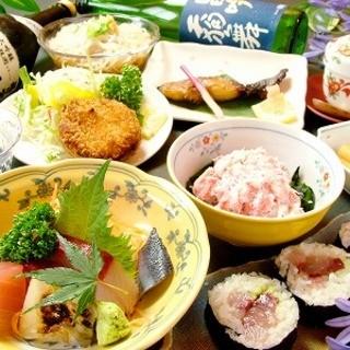 金沢の旬の新鮮素材や人気料理をふんだんに取りそろえた「会席コース」を多数ご用意