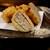 山葵 - 料理写真:鶏つくね蓮根はさみ揚げ