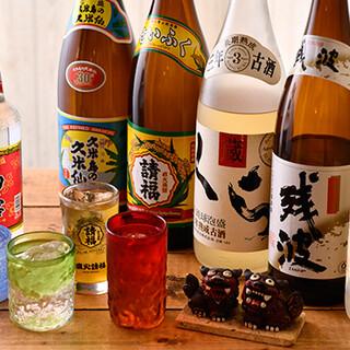 沖縄料理との相性バッチリ♪ドリンクも各種取り揃えております