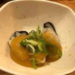 道頓堀麦酒スタンド - カキ土手煮390円