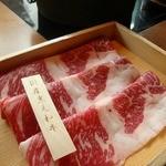 しゃぶしゃぶ 温野菜 - 和牛しゃぶしゃぶ714円也。エエ肉やと思う。量少ないけど、肉がエエなら金払って気持ちエエ。