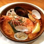 141492856 - カジュアルコース                        ✦秋野菜と魚介のパエリア(1名分)