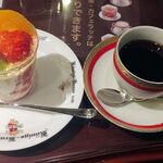 ケーニヒスクローネ - フルーツデラックス+コーヒー