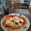 pizzeria UKAUKA - 料理写真:マルゲリータ&アイスコーヒー