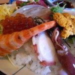 魚 千ふじ - 海老、蛸、ホタルイカ