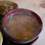 魚 千ふじ - 絶品みそ汁