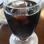 神門通りカフェ ポンム ベエル - アイスコーヒー