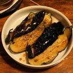 やきとんひなた - 2012.6 ナスのバルサミコ酢(200円)