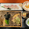 いわな - 料理写真:いわなの握り付き山菜そば定食