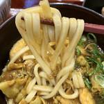 なか卯 - 麺は柔らかい(カレーうどん)