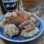 河本 - 料理写真:2012.8 にこみ(300円)