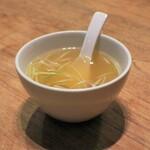 伊達の牛たん本舗 - テールスープ