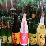 祇園えもん - お酒も豊富に取り揃え