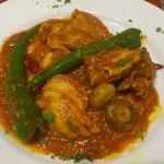 レストラン ボンジョリーナ - 鶏のトマト煮込み
