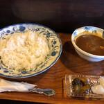 茶豆 - 料理写真:チキンカレー