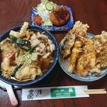 そば処 一茶 - 料理写真:天かし 750円、定食プラス300円(税込)