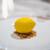 パティスリー パロラ - 料理写真:レモンのスペシャリテ  レモンのムース、 レモンとミントのジュレ、 ホワイトチョコレートでコーティング、 クランブル