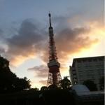 14153680 - 夕焼け小焼けの東京タワー
