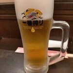 梅蘭 - ワンドリンクは飲み放題にした時の飲み放題メニューから選べる。生ビールは選べるが瓶ビールは対象外。