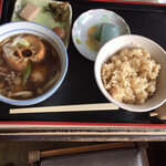 えんどう - 料理写真:芋煮定食