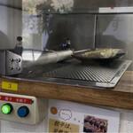 機械の神様が作った餃子研究所 ちゃぶちゃぶ - 目の前はスライド装置