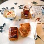 スワンカフェ アンド ベーカリー - 料理写真:550円セット