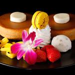 SATSUKI  - 料理写真:いちごハワイアンパンケーキ