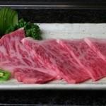 特選神戸松阪クラスのロース(醤油・塩・バター)
