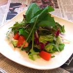 イタ麺 - 野菜サラダ。お2人でどうぞ