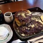 mejiroshimura - 厚焼きホットケーキ 小倉