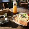 もんちっち3 - 料理写真:チーズトーストのモーニングセット
