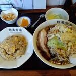 鶴亀食堂 - 鶴亀セット