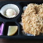 ビストロ サンカント - 料理写真:新潟かつ丼 500円
