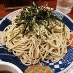 麺房 八角 - ざるそば(大盛り)