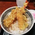 麺房 八角 - ミニ天丼