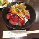 ワイン&タパス PEQUE - ローストビーフ丼(限定)