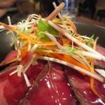 ワイン&タパス PEQUE - シャキシャキの野菜が絶妙な食感