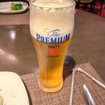 彩華 - 生ビール