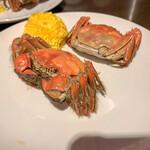 彩華 - 上海蟹 オスとメス