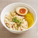 西門食房・小籠包・粥 - ★『人気商品』★ 台湾グルメの定番!鶏肉飯(ジーロウ飯)¥600