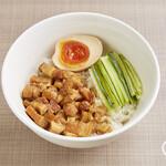 西門食房・小籠包・粥 - 滷肉飯(ルーロー飯)¥600
