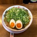 Honke daiitiasahi - 200921ラーメン780円+煮玉子100円+九条ネギ増し80円