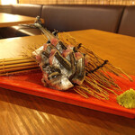GorillA - 秋刀魚のお刺身⋆*