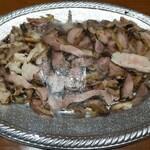岩本商店 - 料理写真:赤鶏のたたき(3~4人前)