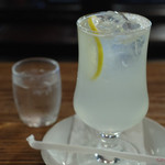 さぼうる - 生ジュース(レモン)