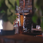 さぼうる - 謎の木像