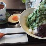 牛島製茶 和cafe Leaf Heart - 【拡大クリック】温かいお茶とお茶受け付き♪